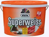Dufa супервайс,Краска для стен и потолков белая матовая